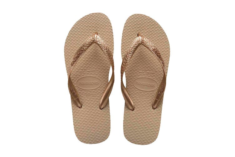 Havaianas Color Mix Thongs (Sand Grey/Light Golden, Size 39/40 BR)