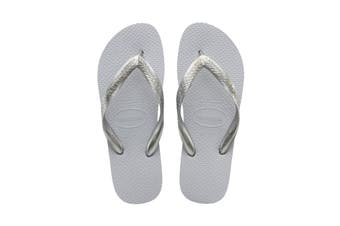 Havaianas Color Mix Thongs (Ice Grey/Silver, Size 33/34 BR)