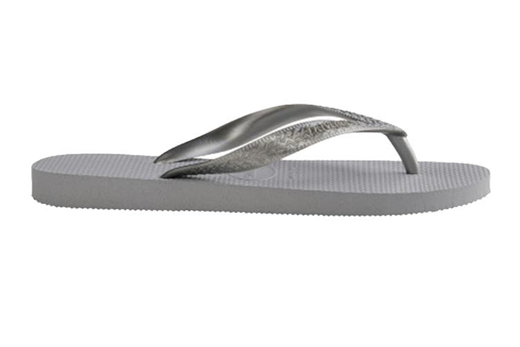 Havaianas Color Mix Thongs (Ice Grey/Silver, Size 37/38 BR)