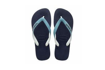 Havaianas Top Mix Thongs (Navy Blue/Mineral Blue)