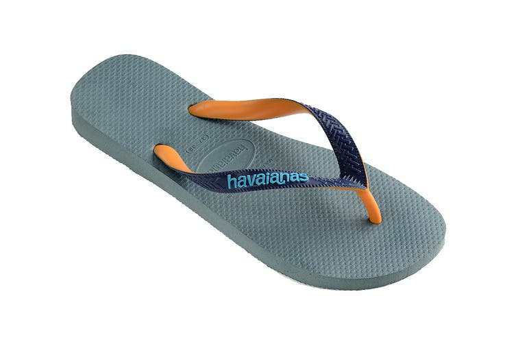 Havaianas Top Mix Thongs (Silver Blue, Size 35/36 BR)