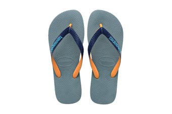 Havaianas Top Mix Thongs (Silver Blue)