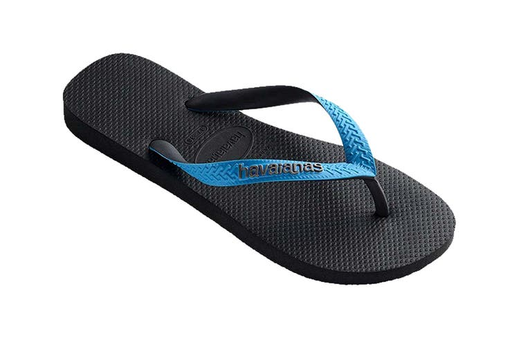 Havaianas Top Mix Thongs (Grey/Turquoise, Size 39/40 BR)