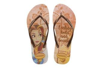 Havaianas Slim Princess Thongs (Ballet Rose, Size 37/38 BR)