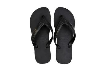 Havaianas Top Max Thongs (Black, Size 37/38 BR)