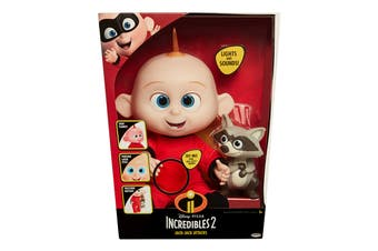 The Incredibles 2 Jack Jack Doll with Racoon
