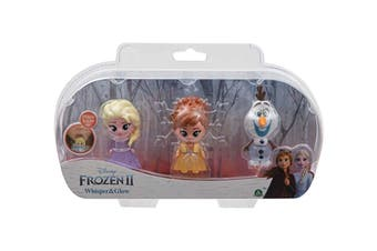 Frozen 2 Mini Glow Figurine 3 Pack