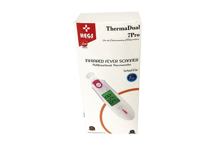 Hegs Multifunctional Thermometer Dual 7 Pro Infrared Fever Scanner