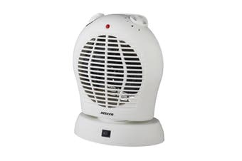 Heller 2000W Upright Oscillating Fan Heater (HUFHOS)