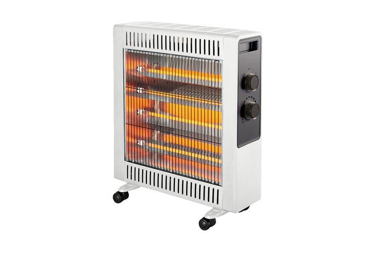 Heller 2200W White Quartz Radiant Heater (HWR2200G)