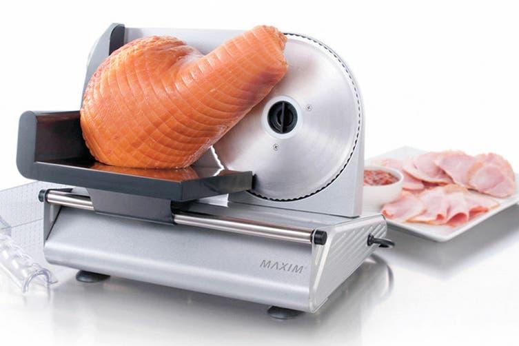 Maxim 200W Electric Deli Style Food Slicer (MMS200)
