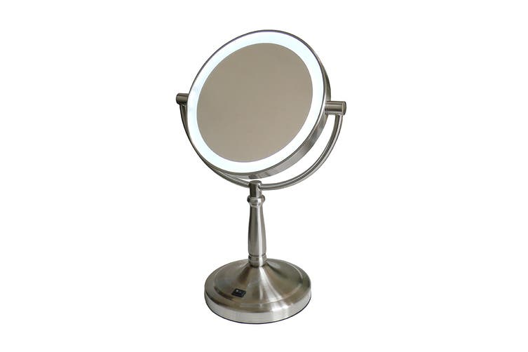 HoMedics SPA Reflectives Illuminated LED Beauty Mirror - Silver (M-445LED)