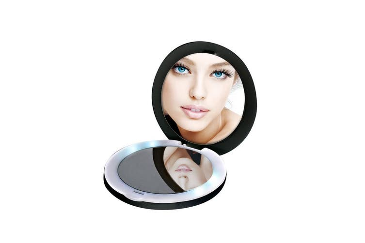 HoMedics LED Compact Makeup Mirror with Power Bank (MPBLED10AU)