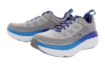 Hoka One One Men's Bondi 6 Running Shoe (Vapor Blue/Frost Grey)