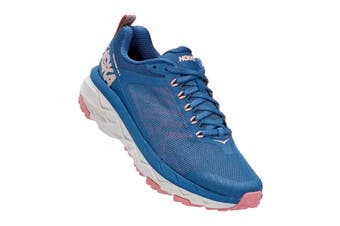 Hoka One One Women's Challenger ATR 5 Trial Running Shoe (Dark Blue/Cameo Brown, Size 8.5 US)
