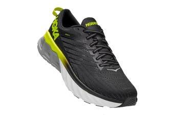 Hoka One One Men's Arahi 4 Running Shoe (Black/Evening Primrose, Size 10.5 US)