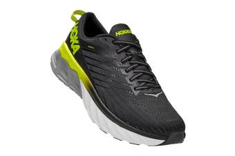 Hoka One One Men's Arahi 4 Running Shoe (Black/Evening Primrose, Size 8.5 US)