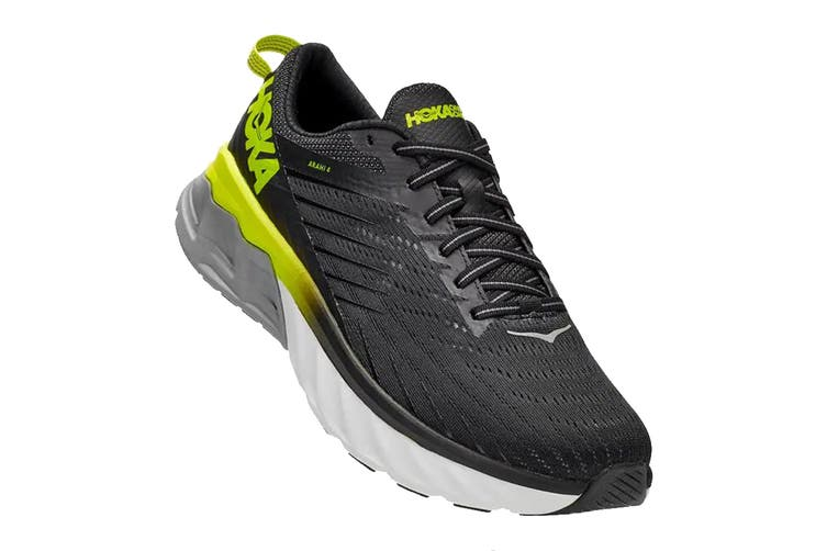 Hoka One One Men's Arahi 4 Running Shoe (Black/Evening Primrose, Size 9 US)