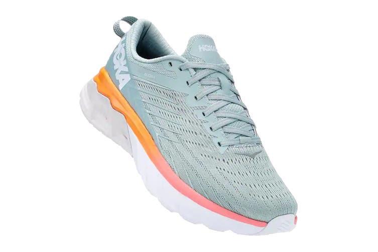 Hoka One One Women's Arahi 4 Running Shoe (Blue Haze/Lunar Rock, Size 8 US)