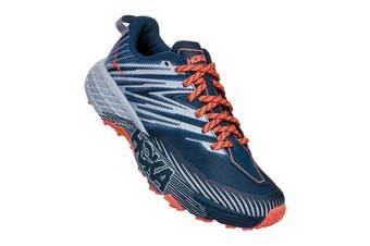 Hoka One One Women's Speedgoat 4 Running Shoe (Majolica Blue/Heather, Size 6 US)