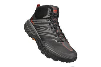 Hoka One One Men's Speedgoat Mid 2 GTX Hiking Shoe (Anthracite/Dark Gull Grey)