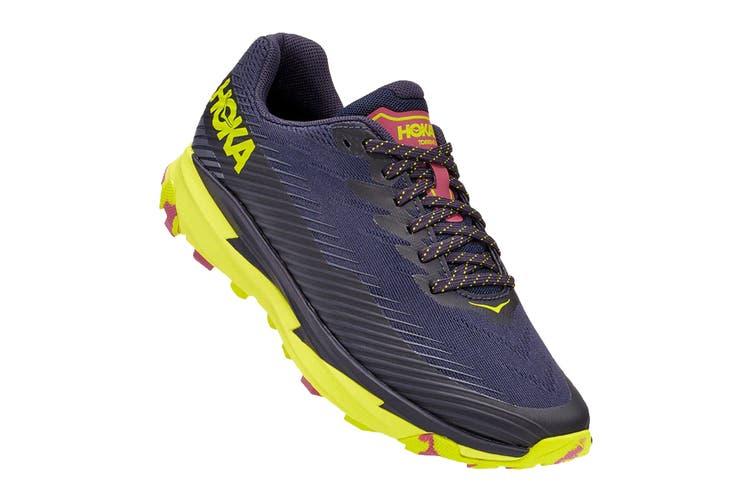 Hoka One One Women's Torrent 2 Running Shoe (Deep Well/Evening Primrose, Size 6.5 US)