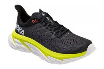 Hoka One One Men's Clifton 7 Running Shoe (Odyssey Grey/Evening Primrose, Size 7.5 US)