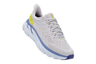 Hoka One One Women's Clifton 7 Running Shoe (Lunar Rock/Nimbus Cloud, Size 8 US)