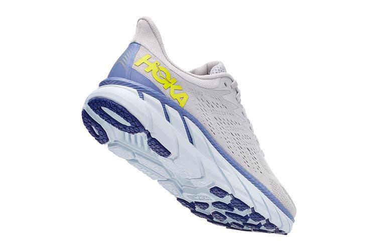 Hoka One One Women's Clifton 7 Running Shoe (Lunar Rock/Nimbus Cloud, Size 8 US)