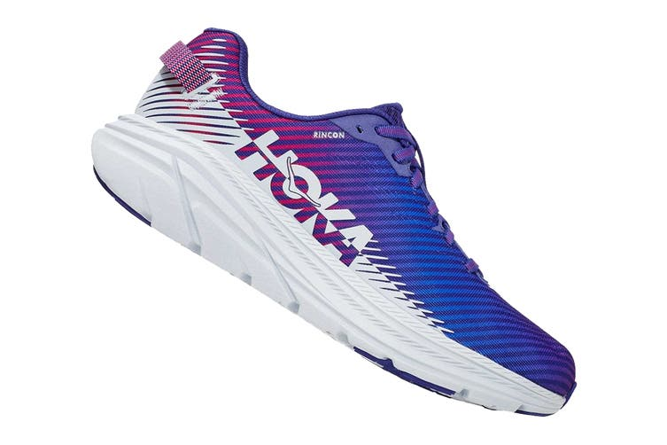 Hoka One One Women's Rincon 2 Running Shoe (Clematis Blue/Arctic Ice, Size 6.5 US)