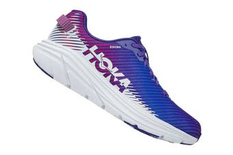 Hoka One One Women's Rincon 2 Running Shoe (Clematis Blue/Arctic Ice, Size 8.5 US)