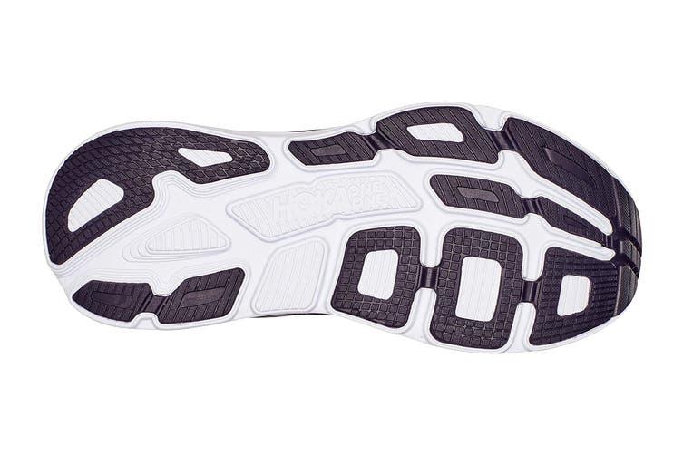 Hoka One One Men's Bondi 7 Running Shoe (Odyssey Grey/Deep Well, Size 13 US)