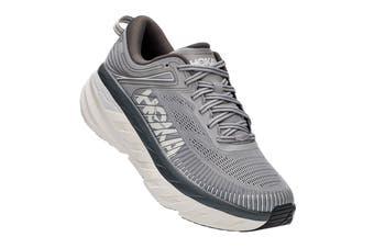 Hoka One One Men's Bondi 7 Running Shoe (Wild Dove/Dark Shadow, Size 10 US)