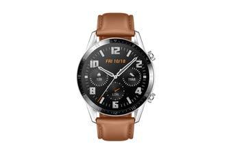 Huawei Watch GT 2 Classic 46mm Smart Watch (Brown)