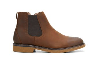 Hush Puppies Men's Minnesota Boots (Brown Rub, Size 10 UK)