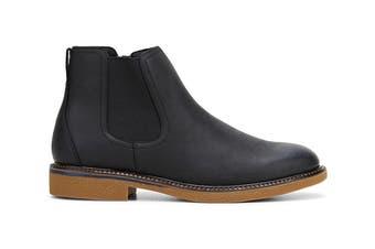 Hush Puppies Men's Minnesota Boots (Black Rub, Size 8.5 UK)