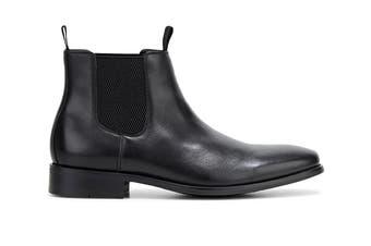 Hush Puppies Men's Wisconsin Boots (Black Burnish, Size 10 UK)