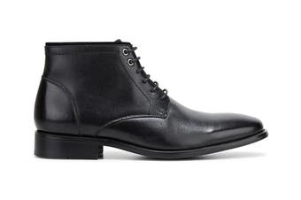 Hush Puppies Men's Weston Boots (Black Burnish, Size 9 UK)