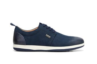 Hush Puppies Men's Dome Sneakers (Navy Nubuck, Size 10 UK)