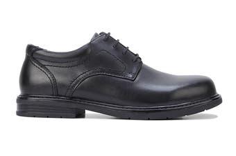 Hush Puppies Men's Daly Shoe (Black Eee)