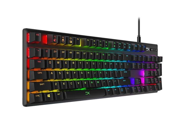 HyperX Alloy Origins Mechanical Gaming Keyboard (HyperX Aqua Switch)