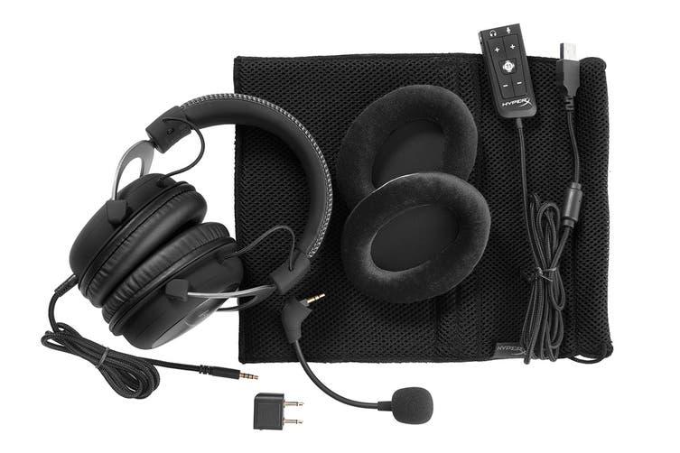 HyperX Cloud II Gaming Headset for PC & PS4 & Xbox One, Nintendo Switch - Gun Metal