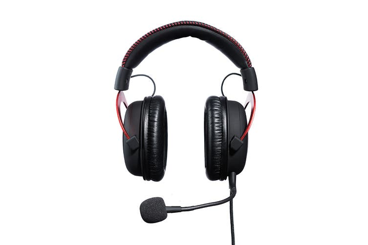 HyperX Cloud II Gaming Headset for PC & PS4 & Xbox One, Nintendo Switch - Red