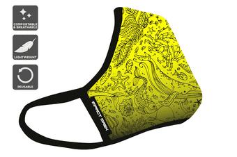 Banana Beach Washable Reusable 95 Face Mask