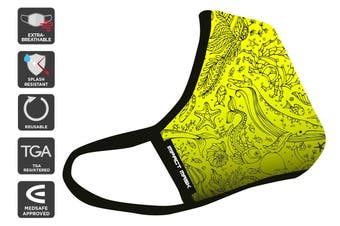 Banana Beach TGA & Medsafe Approved Reusable 95 Face Mask