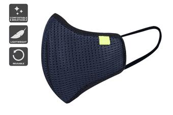 Washable Reusable 95 Impact Face Mask (Blue)