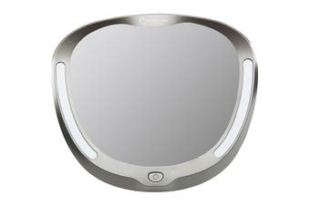 Infa Secure Deluxe Mirror With Light - Grey