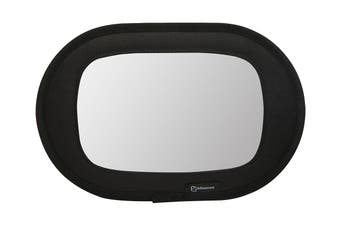 Infa Secure Deluxe Fabric Mirror - Black