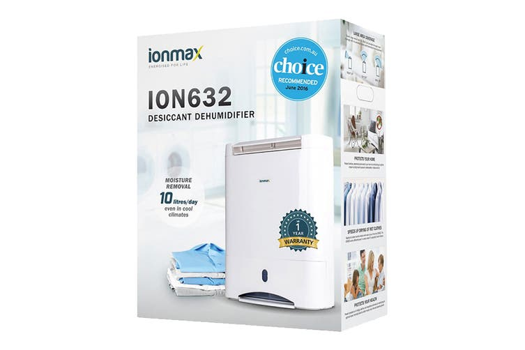 Ionmax 10L Desiccant Dehumidifier (ION632)