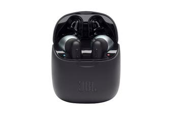 JBL Tune 220 True Wireless In-Ear Headphones (Black)